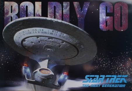 Framed Boldly Go - Star Trek: The Next Generation