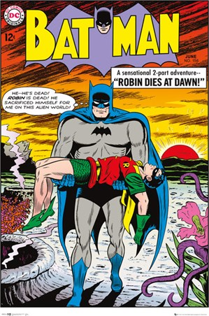 Robin Dies At Dawn - DC Comics