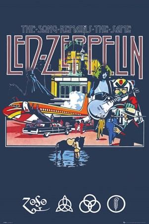 Framed The Song Remains The Same - Led Zeppelin