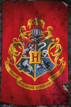 Hogwarts Flag - Harry Potter