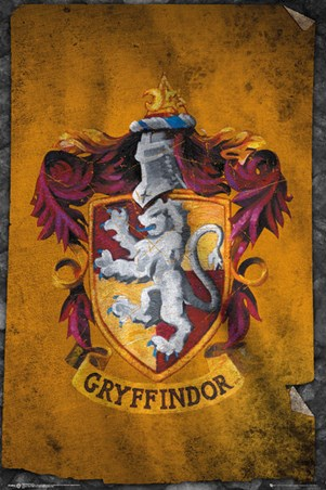Gryffindor Flag - Harry Potter