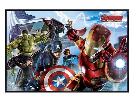 Gloss Black Framed Avengers Re-Assemble - Avengers Age of Ultron