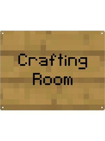 Crafting Room Note - Gaming