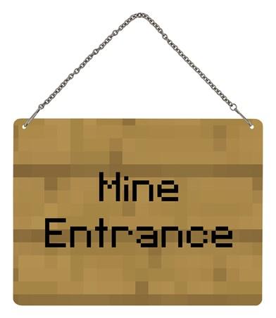 Framed Mine Entrance - Gaming