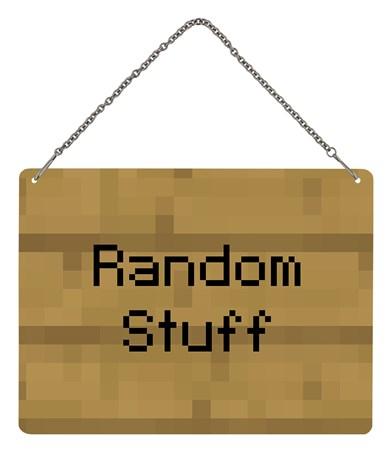 Framed For The Love of Blocks! - Ramdom Stuff