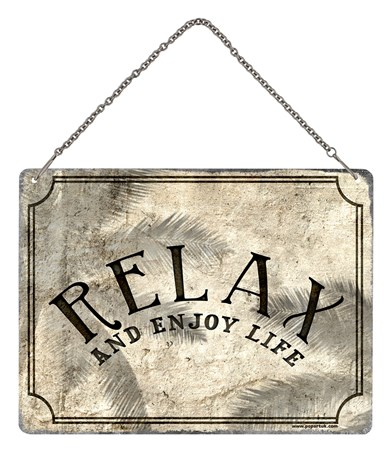 Framed Relax - Enjoy Life