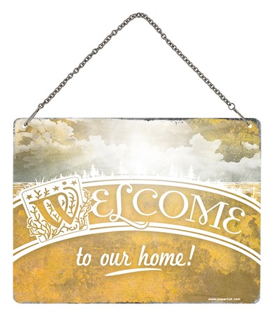 Framed Welcome To Our Home - Where The Heart Is