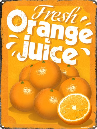 Fresh Orange Juice - How do you like your juice in the morning?