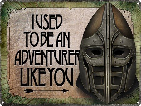 I Used To Be An Adventurer Like You - Inspired by Skyrim