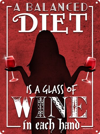 A Balanced Diet - A Wine Juggling Act