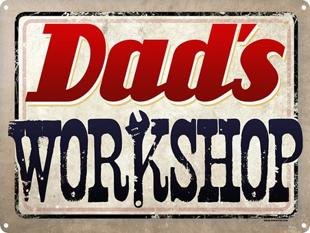 Enter If You Dare! - Dad's Workshop