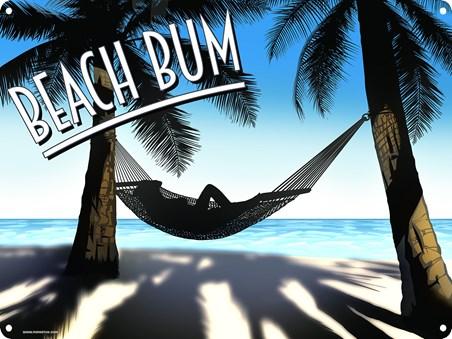 Framed Lazy Days & Holidays - Beach Bum