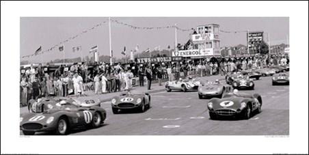 Start of the Tourist Trophy, Goodwood 1959 - Jesse Alexander