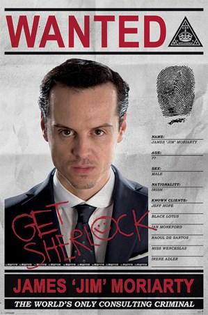 Criminal Moriarty Wanted - Sherlock