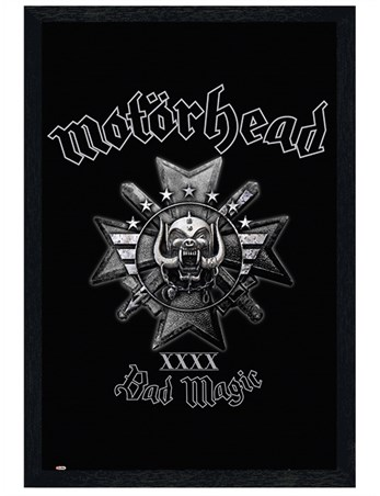 Framed Black Wooden Framed Bad Magic - Motorhead