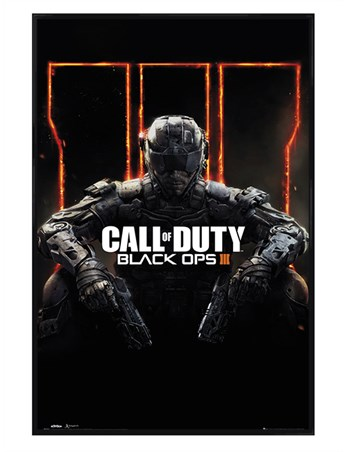 Gloss Black Framed Immortalise Yourself - Call of Duty Black Ops 3