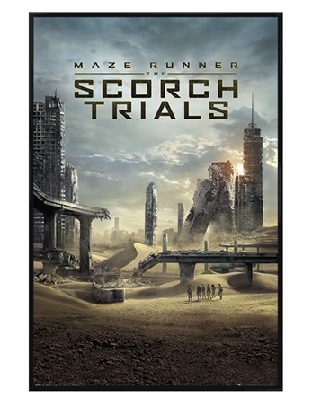 Gloss Black Framed Scorch Trials - Maze Runner 2
