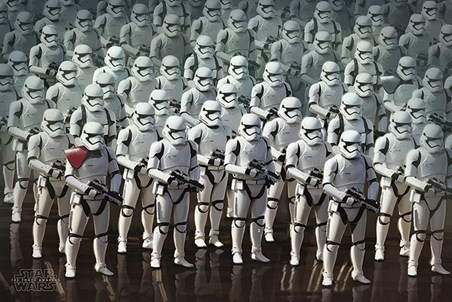 Stormtrooper Army - Star Wars Episode VII: The Force Awakens