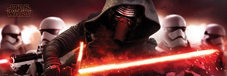 Kylo Ren & Stormtroopers - Star Wars Episode VII
