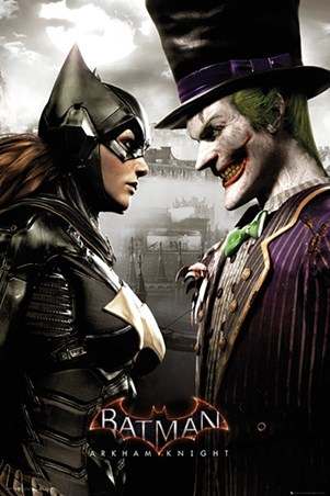 It's All Fun And Games - Arkham Batgirl and Joker
