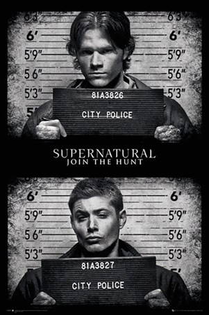 Horrifying Mug Shots - Supernatural