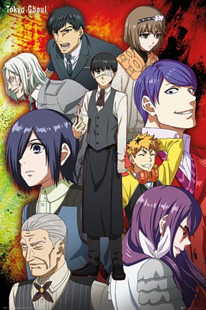 A Ghoulish Group - Tokyo Ghoul