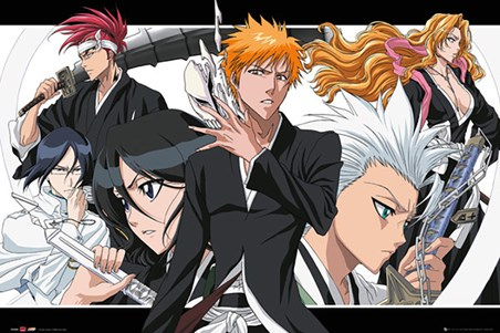 A Collage Of Characters - Bleach