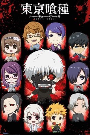 Chibi Characters - Tokyo Ghoul