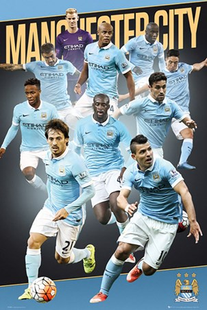 Team Players 2015/16 - Manchester City Football Club