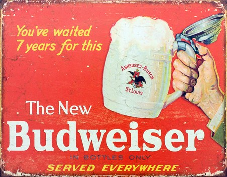 You've Waited 7 Years For This - The New Budweiser