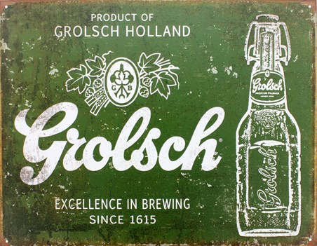 Excellence In Brewing Since 1615 - Grolsch Beer