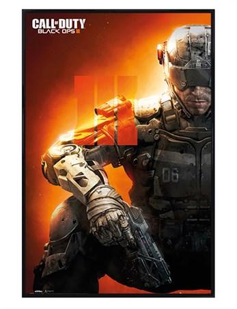 Gloss Black Framed Black Ops 3 - Call Of Duty