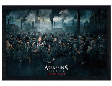 Black Wooden Framed Step Into Victorian London - Assassin's Creed Syndicate