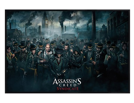 Gloss Black Framed Step Into Victorian London - Assassin's Creed Syndicate