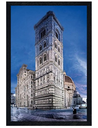 Black Wooden Framed Cattedrale di Santa Maria del Fiore - Florence Cathedral