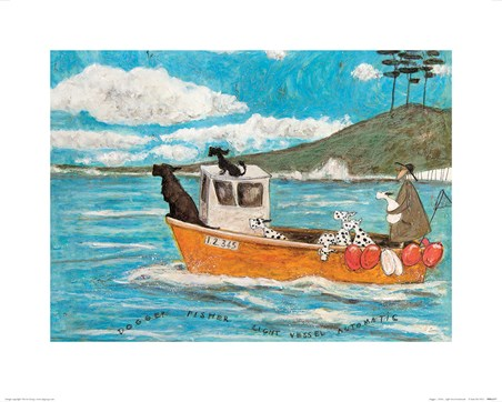 Dogger, Fisher, Light Vessel Automatic - Sam Toft