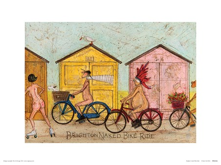 Brighton Naked Bike Ride - Sam Toft