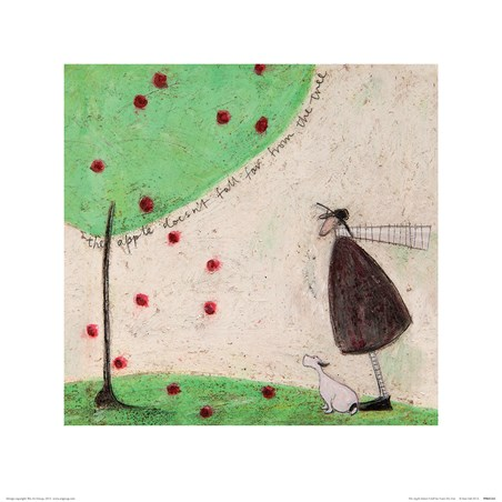 The Apple Doesn't Fall Far From The Tree - Sam Toft