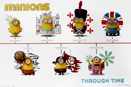 Minions Through Time - Minions