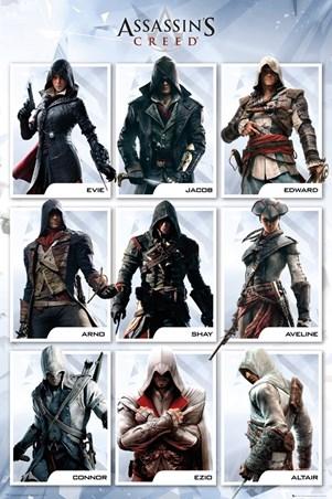 Framed The Brotherhood Evolution - Assassins Creed