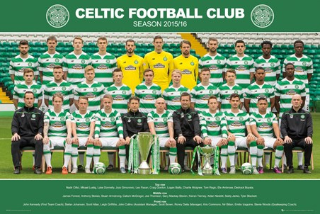 Team Photo 2015/16 - Celtic Football Club