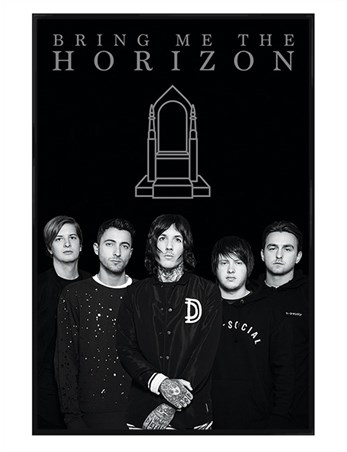 Gloss Black Framed Band Members - Bring Me The Horizon