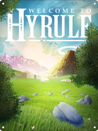 Welcome To Hyrule! - Inspired by Legend Of Zelda