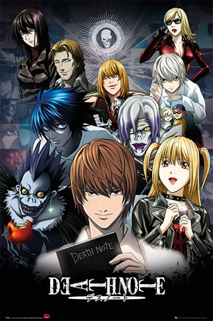 The Shinigami, The Boy, And The Book - Death Note