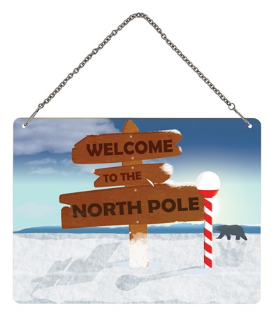 Welcome To The North Pole - A Winter Wonderland