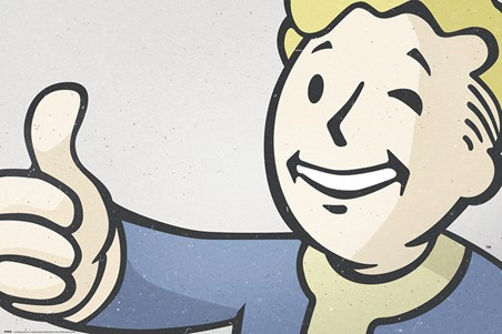 Thumbs up! - Fall Out 4 Vault Boy