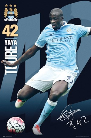 Yaya Toure 15/16, Manchester City Football Club