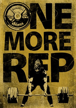 Don't Give Up - One More Rep