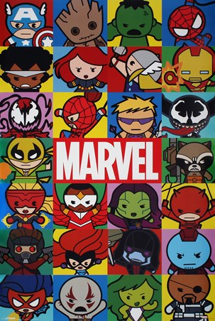 Kawaii Characters - Marvel