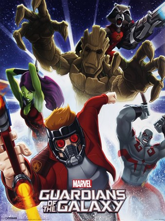 Character Burst - Guardians Of The Galaxy